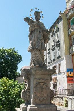 Figura św. Jana Nepomucena na Moście św. Jana. Kłodzko, powiat kłodzki.