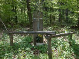 Przydrożny krzyż kamienny. Wałbrzych, Wałbrzych.