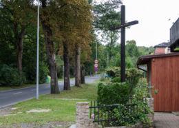 Krzyż przydrożny przy ulicy Moniuszki. Wałbrzych, Wałbrzych.