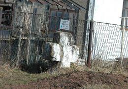Przydrożny krzyż pokutny przy ulicy Świerkowej. Wałbrzych, Wałbrzych.