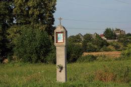 Kapliczka przydrożna. Sobótka-Strzeblów, gmina Sobótka, powiat wrocławski.