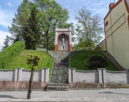 Przydrożna kapliczka. Więcbork, powiat sępoleński.