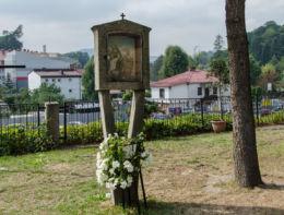 Fragment Drogi Krzyżowej. Limanowa, powiat limanowski.