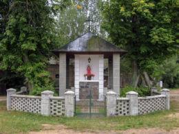Przydrożna kapliczka z 1951 r. Serpelice, gmina Sarnaki, powiat łosicki.