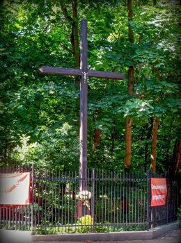 Krzyż przydrożny. Konstancin-Jeziorna, powiat piaseczyński.