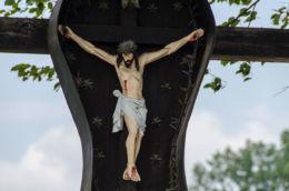 Krzyż przydrożny. Limanowa, powiat limanowski.
