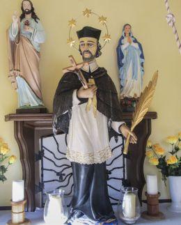 Figura św. Jana Nepomucena. Gogolin, powiat krapkowicki.