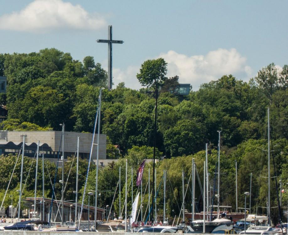 Krzyż metalowy. Gdyni, Gdynia.