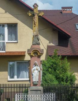 Krzyż - Boża Męka z 1811 r., ul. Krakowska 61. Bieruń, gminy Bojszowy, powiat bieruńsko-lędziński.