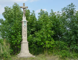 Krzyż przydrożny z 1885 r. Gliwice, Bojków, Gliwice.
