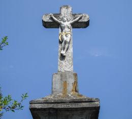 Krzyż przydrożny, z 1843 roku. Mikołów, powiat mikołowski.