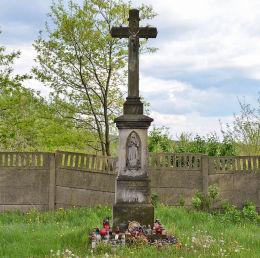 Krzyż cmentarny z 1896 r. Ruda Śląska, Wirek, Ruda Śląska.