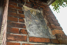 Kapliczka przydrożna z 1935 roku. Bełk, gmina Czerwionka-Leszczyny, powiat rybnicki.