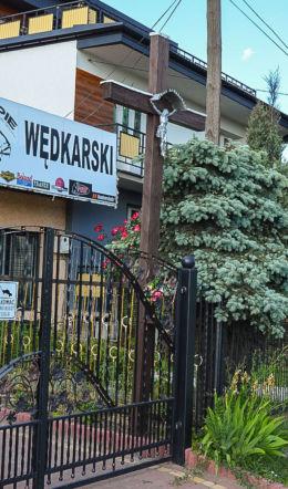 Krzyż przydrożny przy ulicy Piekoszowskiej. Kielce, Kielce.