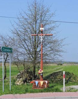 Przydrożny krzyż. Mirzec, gmina Mirzec, powiat starachowicki.