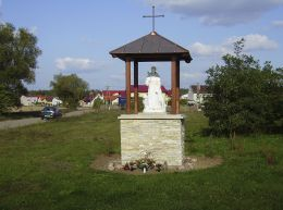 Kapliczka przydrożna. Budzyń, gmina Budzyń, powiat chodzieski.