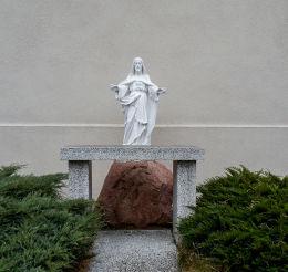 Kapliczka Jezusa Chrystusa przy kościele św. Michała Archanioła. Połajewo, czarnkowsko-trzcianecki.