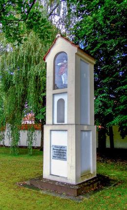 Przydrożna kapliczka św. Wawrzyńca. Wieleń, czarnkowsko-trzcianecki.