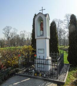 Przydrożna kapliczka św. Wawrzyńca. Michorzewo, gmina Kuślin, powiat nowotomyski.