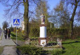 Figura przydrożna. Nieżychowo, gmina Białośliwie, powiat pilski.