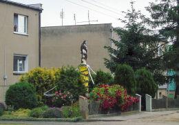 Błociszewo, gm. Śrem. Figura Chrystusa. Błociszewo, gmina Śrem, powiat śremski.