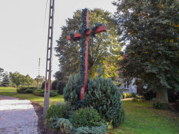 Krzyż misyjny. Głubczyn, gmina Krajenka, powiat złotowski.