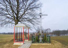 Krzyż przydrożny. Maryniec, gmina Krajenka, powiat złotowski.