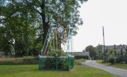 Krzyż przydrożny. Troszynek, gmina Wolin, powiat kamieński.