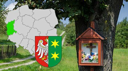 kapliczki i krzyże przydrożne województwo lubuskie, kapliczki przydrożne w polsce