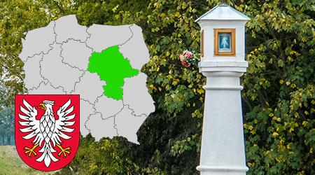 kapliczki i krzyże przydrożne województwo mazowieckie, kapliczki przydrożne w polsce