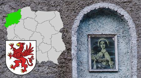 kapliczki i krzyże przydrożne województwo zachodniopomorskie, kapliczki przydrożne w polsce