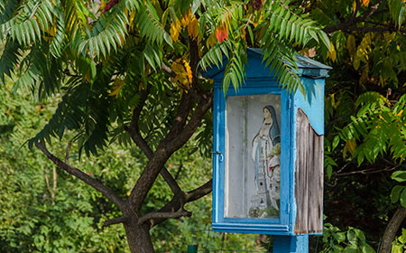 kapliczki i krzyże przydrożne w polsce najnowsze zdjęcia